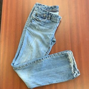 Express jeans boot cut